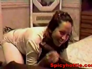 Amateur wife cheating hus and making out with black guy