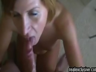Rewarding Deepthroat my wife with a facial