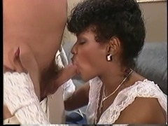 White guy drills sexy Angel Kelly on a couch