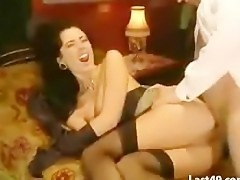 Italian brunette fucking in train controller
