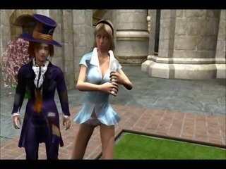 3D - Alice in Wonderland - Part 2