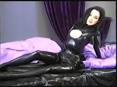 Rubber and Latex Tease