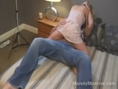 Tiny Blonde MIlf Gets Creampie free