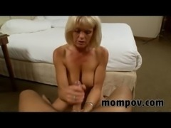 blonde milf fucking young cock free