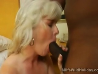 We have this hot MILF named Stacey as she brought back a black stud into her...