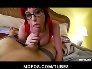 Incredibly HOT amateur redhead makes a home sex tape