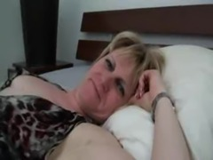French mature Sylvie fucked by her son's friends free