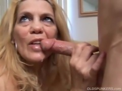 Beautiful mature blonde loves t ... free
