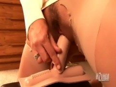 Riding the Sybian in Pantyhose free