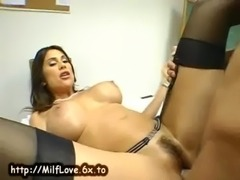 MILF teacher sucks cock free