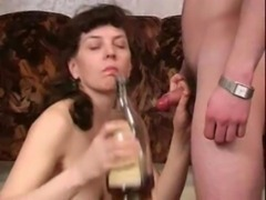 Drunken Mom fucks young Guy free
