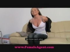 FemaleAgent All natural busty b ... free