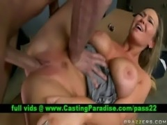 Abbey Brooks, busty blonde gets ... free