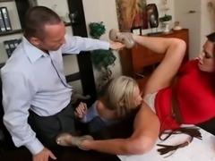 office threesome