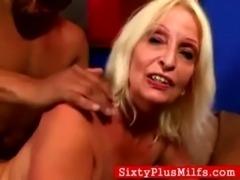 Granny Debra fucking black stud free