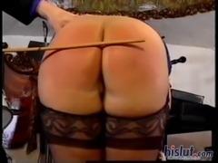 This slut got spanked
