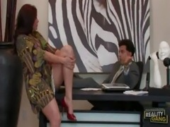 Sheila Marie Bangs Her Boss at Milfs Want Big Cock free