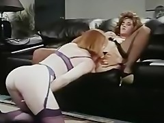 Office Lesbians in retro movie