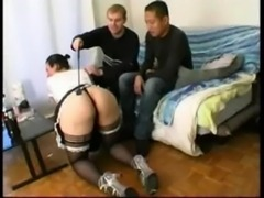French maid threesome free