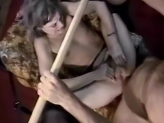 Explicit Fetish scene presented by DVD Box