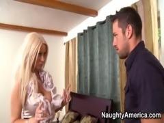 Blonde Latina MILF Fucks Her Tenant free