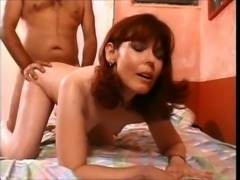 52yr old Misty gets some dick free