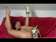40 Asian Latin mix fucks heel