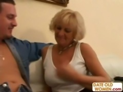 Older woman fucks a shy younger guy free