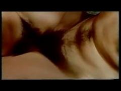 Vintage cumshots on hairy pussies