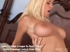 Hot blonde MILF fucks pool boy free