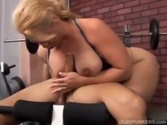 Beautiful busty mature cock sucker free