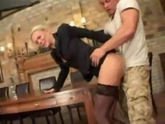 German Milf Gets Screwed By Emp ... free