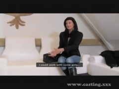 Casting - Mature babe is as wil ... free