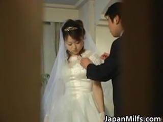 Asian bride gets hardcore group fucking part2