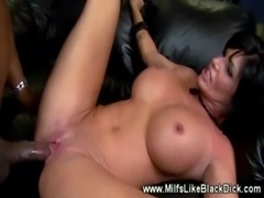 White milf loving black dick de ... free