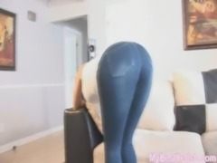 Tight spandex and panty ass - M ... free