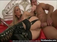 Hot MILF hardcore anal sex free