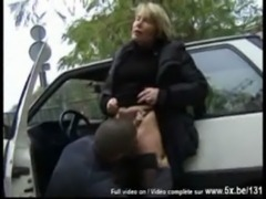 French mature threesome free