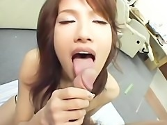 avmost.com  Stockinged Asian chick gets nasty with a stud's stiff dick