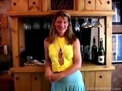 Fit mature swinger fucks her wet pussy free