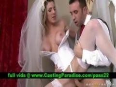 Kayla Paige, stunning bride fuc ... free
