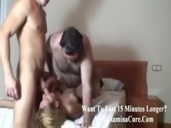 Tasty mature gets facial from t ... free