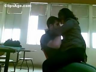 Arab trainee teacher having sex with student
