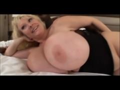 mature milf with huge melons bangs free