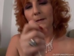 Ginger cougar is a squirter free