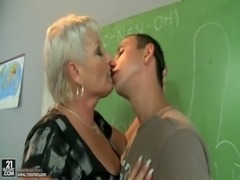 Mature teacher free