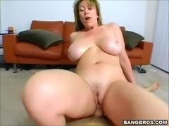 Blonde MILF in POV free