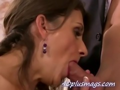 divorcee Maria W fucking younger stud free