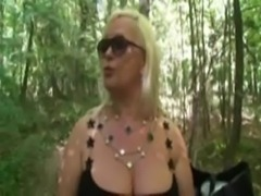 Marie, French mature fucked in  ... free