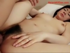 Milf Getting Her Hairy Pussy Fucked By Guy Facial On The Mattress free